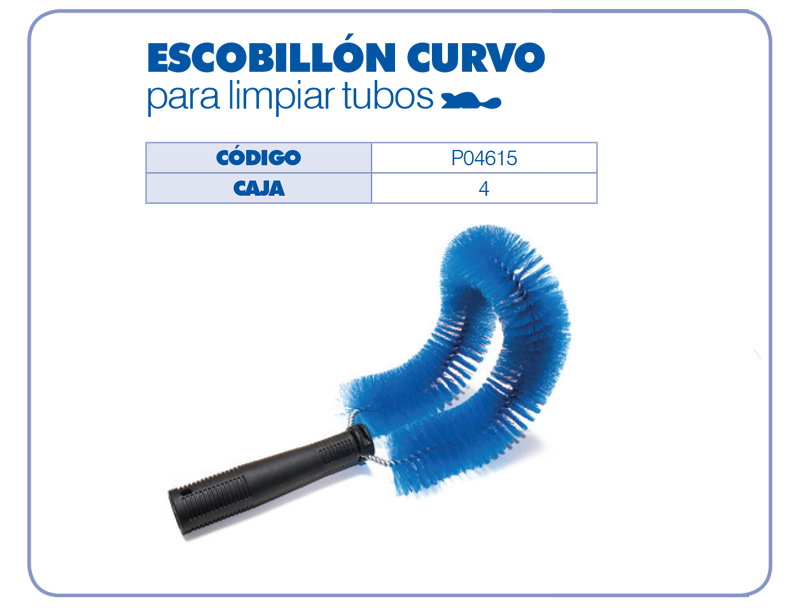 Escobill n curvo para limpiar tubos emquime cia ltda - Limpiar tuberias de cal ...